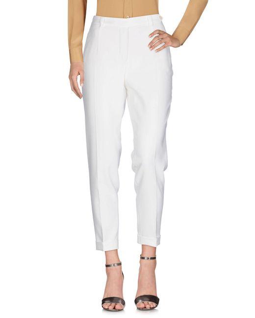 Loro Piana | White Casual Pants | Lyst