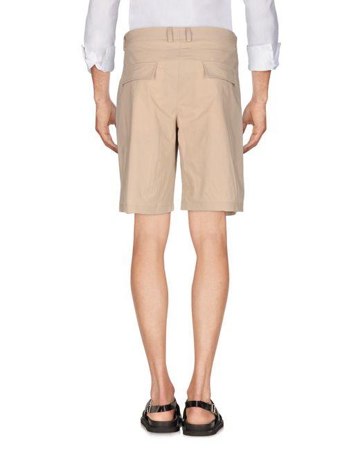 Versace Natural Bermuda Shorts for men