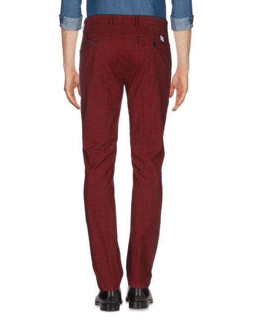 Pantalon Department 5 pour homme en coloris Red