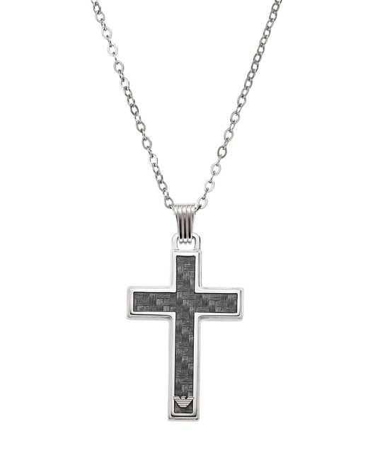 Emporio Armani Halskette in Metallic für Herren