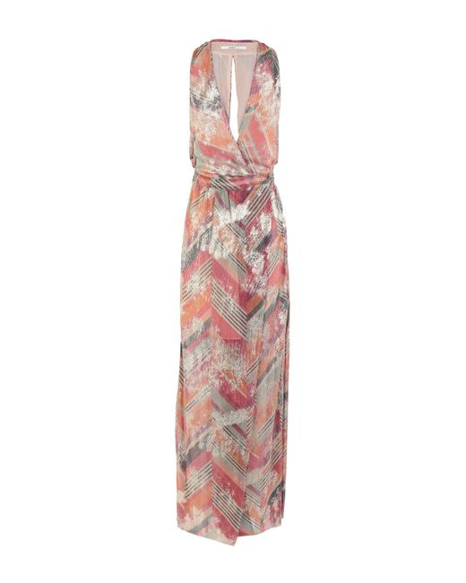 Ba&sh Pink Long Dress