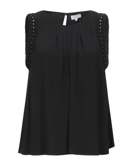 Claudie Pierlot Top da donna di colore nero