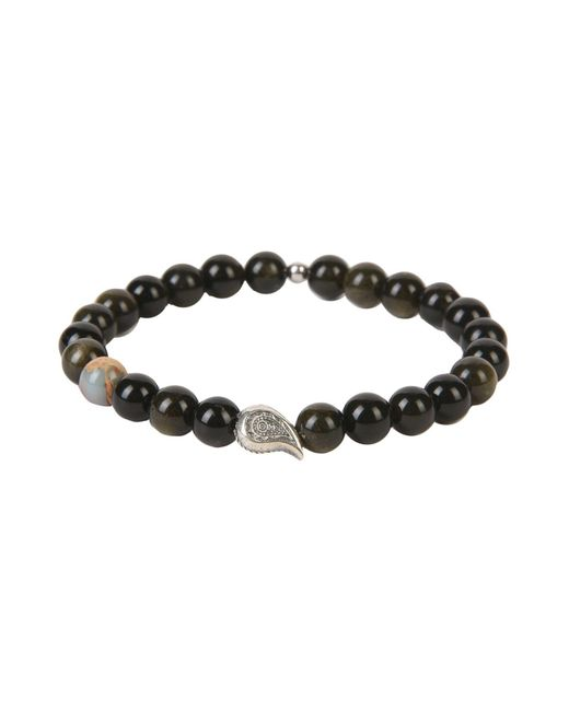 THE JAAR - Black Bracelet - Lyst