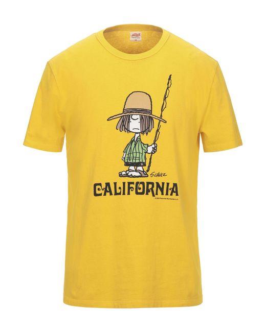 Tsptr Yellow T-shirt for men