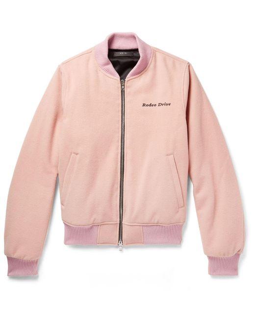 Cazadora Amiri de hombre de color Pink
