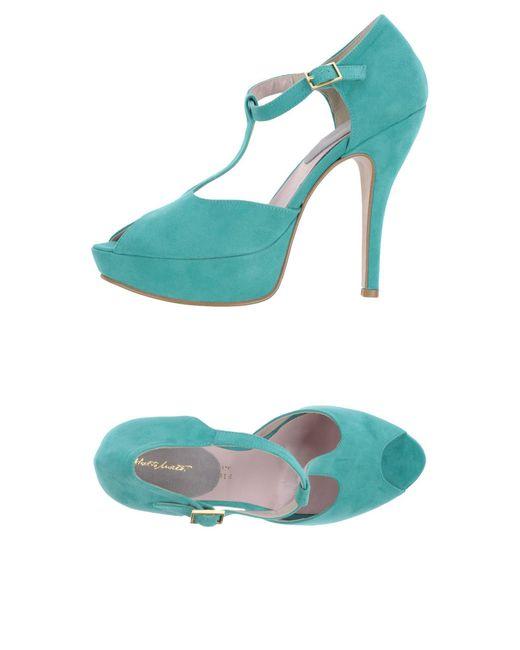 Alberto Moretti - Green Sandals - Lyst