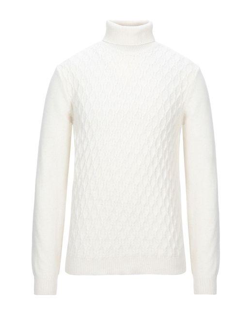 Officina 36 Rollkragenpullover in White für Herren