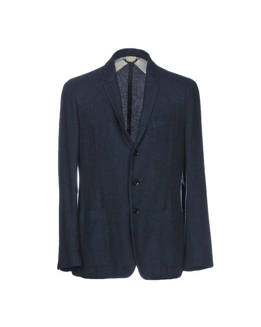 Burberry - Blue Blazer for Men - Lyst