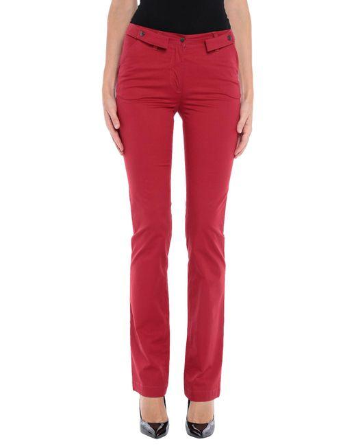 Dolce & Gabbana Pantalones de mujer de color rojo