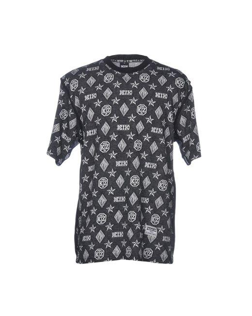 KTZ Black T-shirt for men
