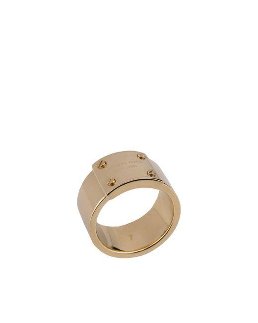MICHAEL Michael Kors - Metallic Ring - Lyst