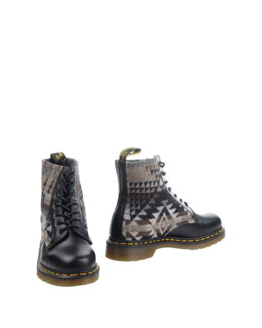 Dr. Martens Black Ankle Boots