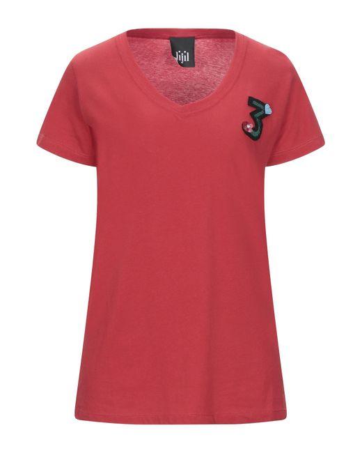 Jijil Red T-shirts