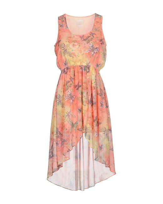 Maison Espin - Multicolor Short Dress - Lyst