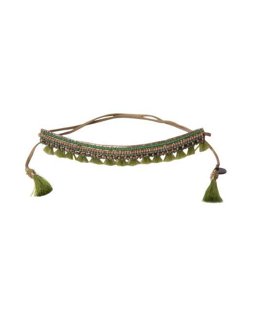 Deepa Gurnani - Green Necklace - Lyst