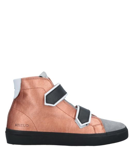 Leather Crown Multicolor High-tops & Sneakers