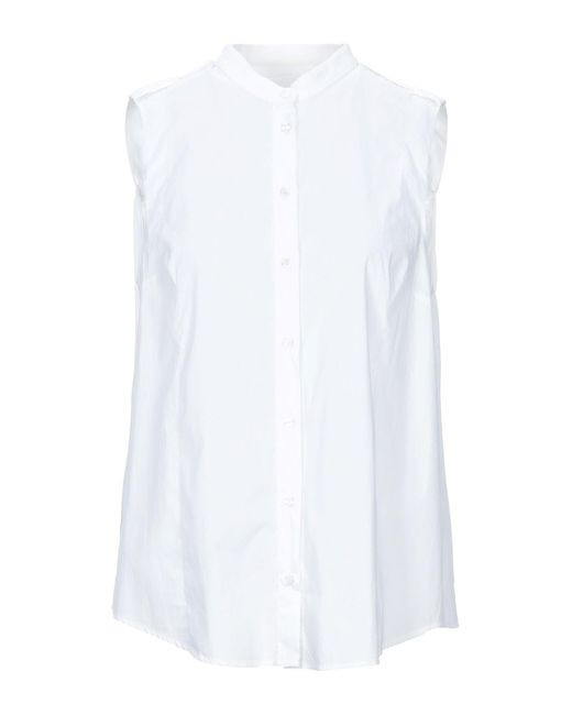 Tru Trussardi Camicia da donna di colore bianco