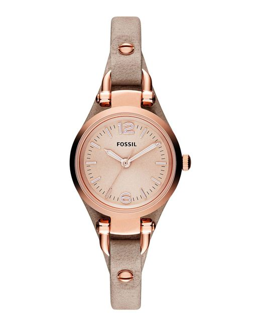 Fossil - Natural Wrist Watch - Lyst