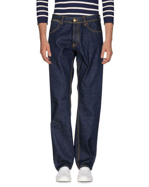 Ballantyne - Blue Denim Pants for Men - Lyst