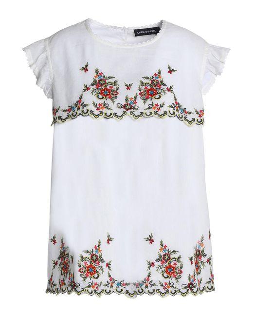 Antik Batik - White Blouse - Lyst