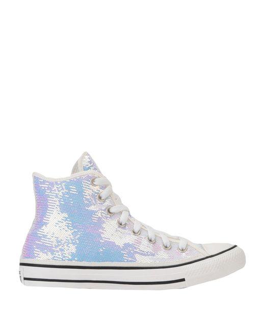 Converse Sneakers abotinadas de mujer de color blanco