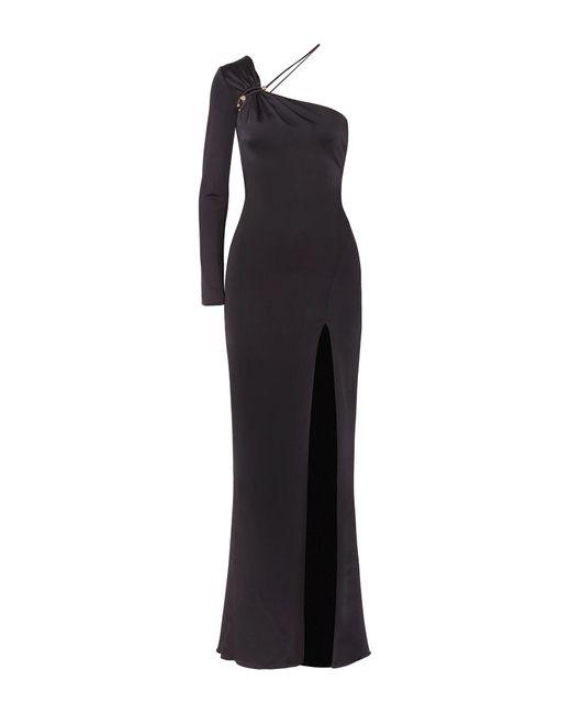 Cushnie Black Langes Kleid