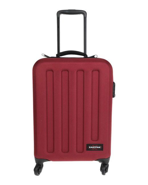 Eastpak Red Wheeled luggage