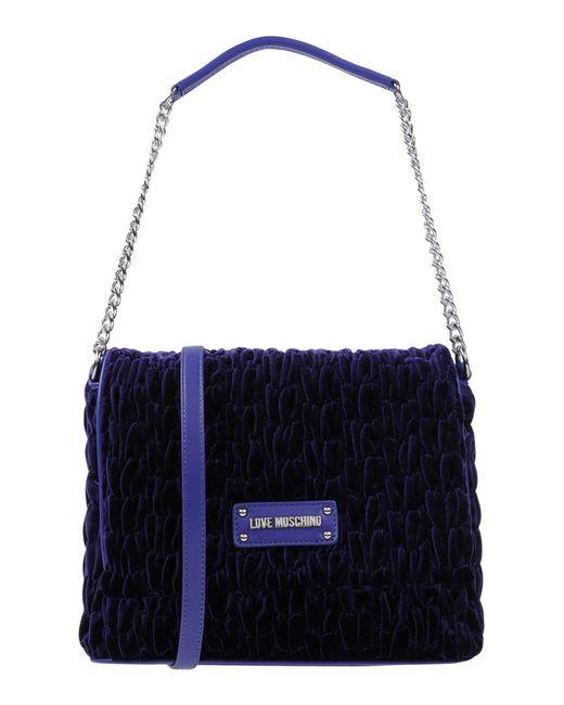 Love Moschino - Purple Handbags - Lyst