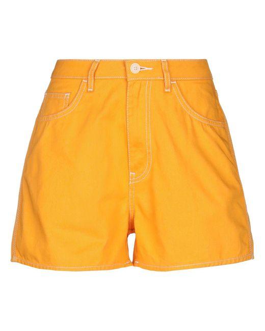 Short Haikure en coloris Yellow