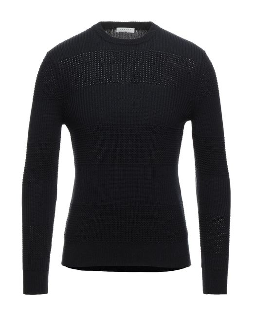 Pullover di Sandro in Black da Uomo
