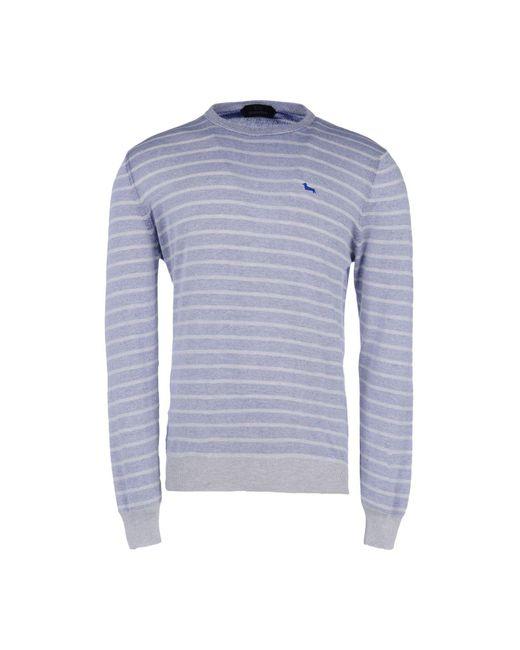 Harmont & Blaine - Purple Crewneck Sweater for Men - Lyst