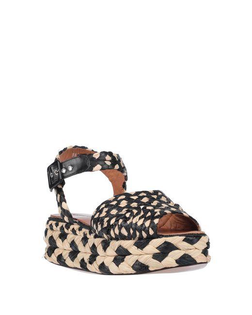 Clergerie Women's Black Sandals