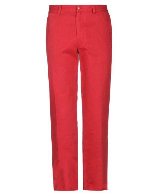 Pantalone di Fay in Red da Uomo