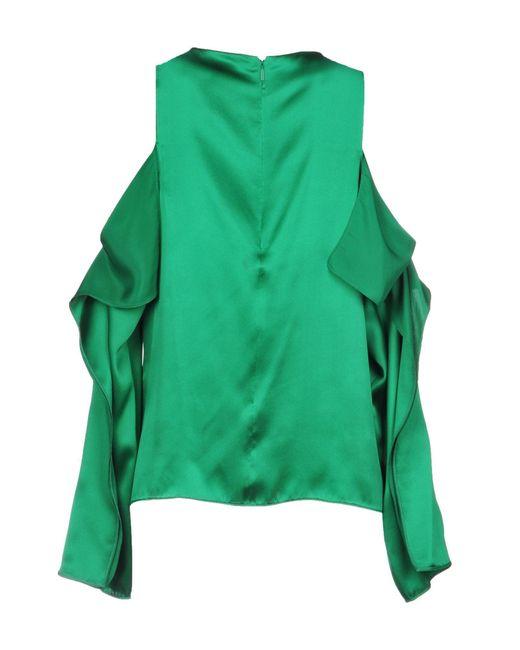 Pinko Blusa de mujer de color verde d617Z