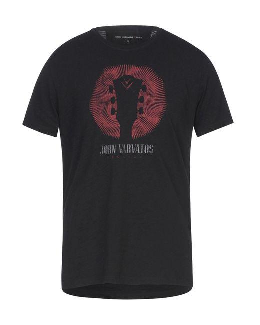 John Varvatos Black T-shirt for men