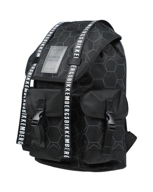 Bikkembergs Black Backpack for men