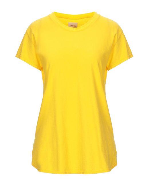 T-shirt ..,merci en coloris Yellow