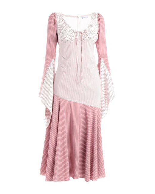J.W. Anderson - Pink 3/4 Length Dress - Lyst