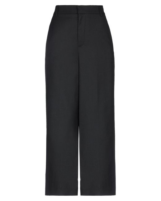 ..,merci Pantalones de mujer de color negro