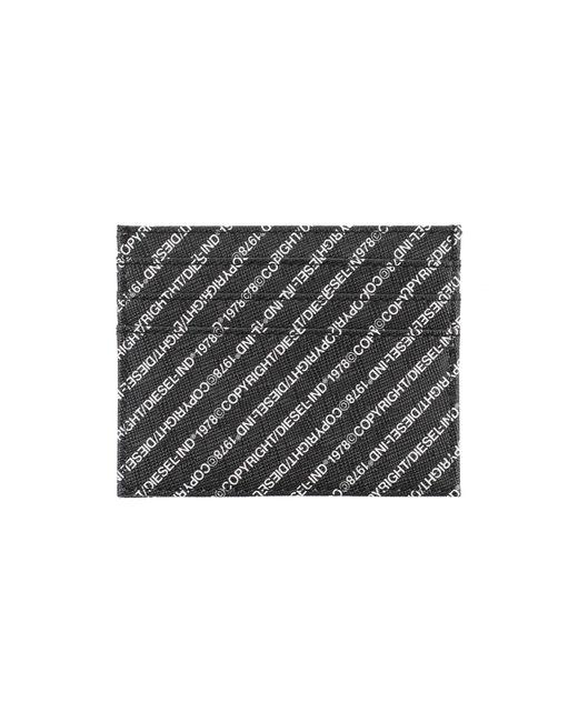Porte-documents DIESEL pour homme en coloris Black