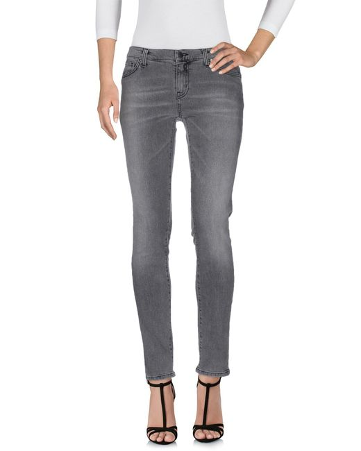 Space Style Concept | Gray Denim Trousers | Lyst