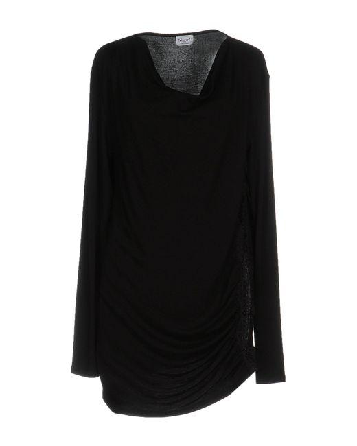 Blugirl Blumarine   Black T-shirt   Lyst