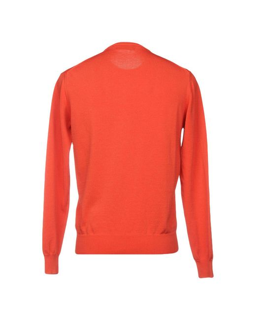 Pullover di Fred Perry in Red da Uomo