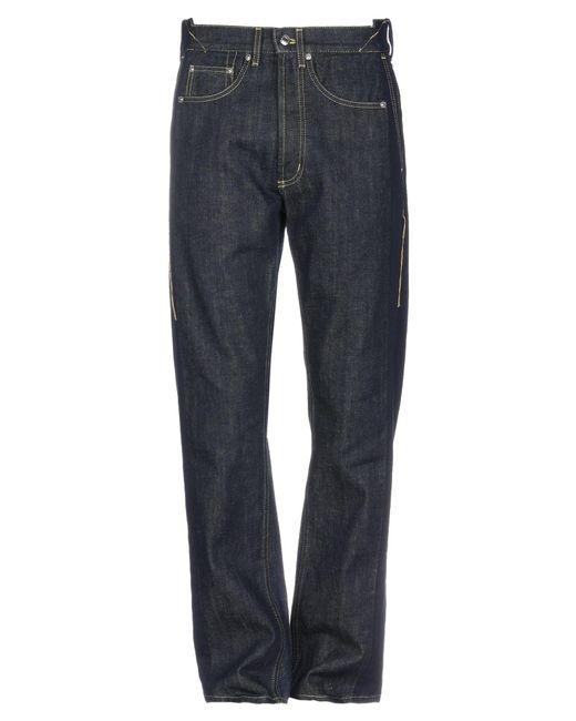 McQ Alexander McQueen Blue Denim Trousers for men