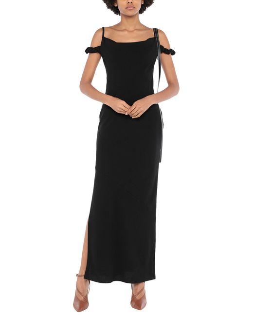 Robe longue Loewe en coloris Black