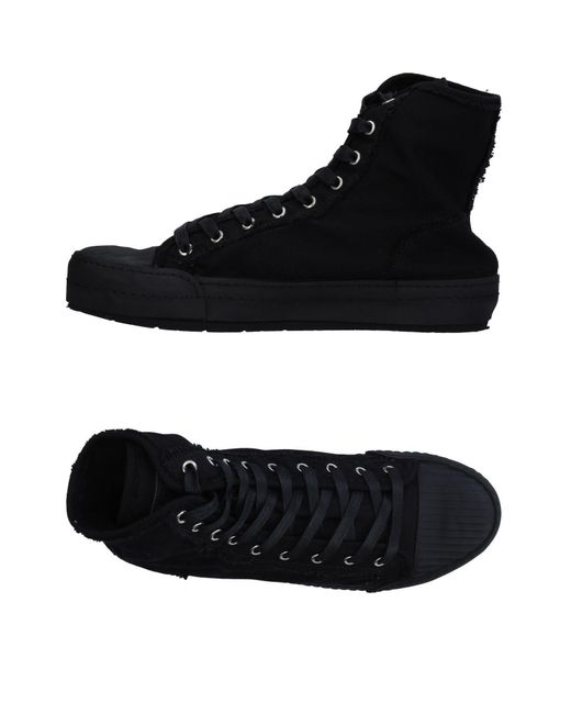 MM6 by Maison Martin Margiela Black High-tops & Sneakers