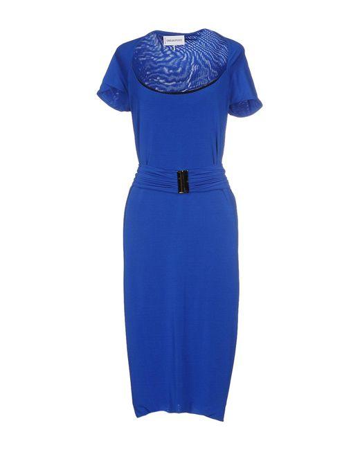 Emilio Pucci - Blue Knee-length Dress - Lyst