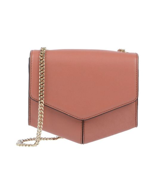 2990c9519156 Sandro - Pink Cross-body Bag - Lyst ...
