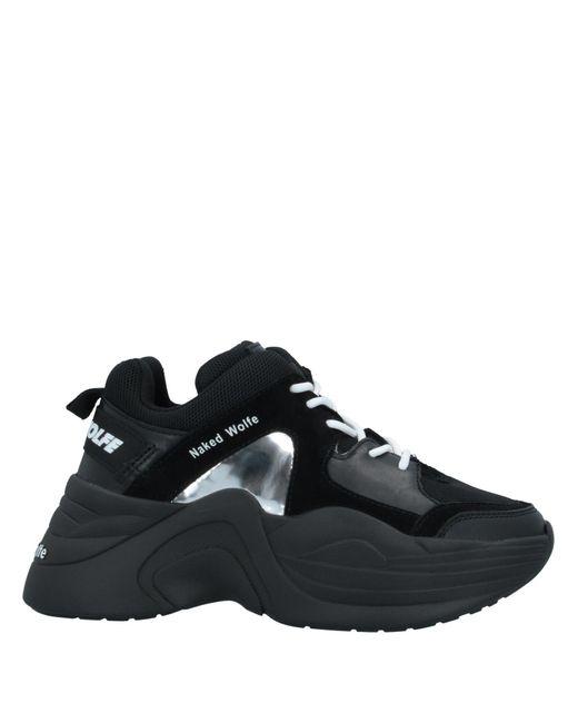 Naked Wolfe Sneakers & Deportivas de mujer de color negro