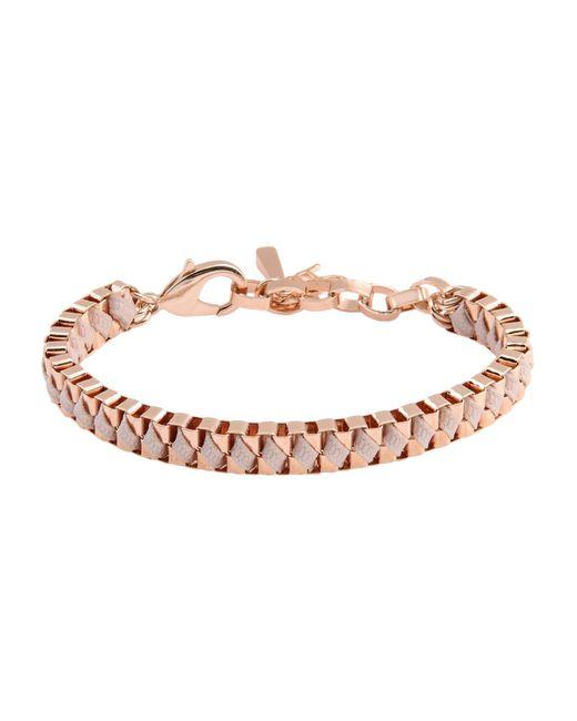 John & Pearl - Pink Bracelet - Lyst
